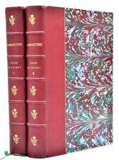 Lamartine : VOYAGE EN ORIENT, 1875 - Palestine, Liban, Syrie. 2 vol., gravures