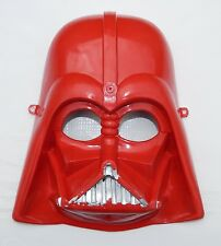 RARE STAR WARS POWER OF THE FORCE DARTH VADER MEXICAN CHILDREN MASK RED COLOR