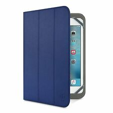 Belkin Universal Tri-Fold Folio Cover Case & Stand For iPad Mini 4, 3, 2, 1 Blue