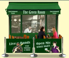 Cafe barriers bar pub night club BANNER AND SIGN DESIGN INCLUDED IN PRICE