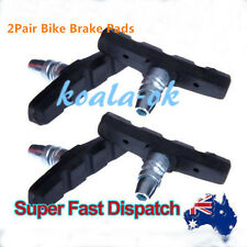 2 X PAIR STANDARD Bicycle V-BRAKE PADS for hybrid/Comfort/Mountain Bikes PG