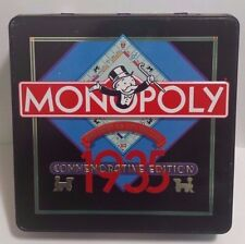 Monopoly 1935 Commemorative Edition Tin Box Complete Collectors Extra Money Set