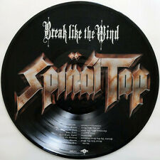 SPINAL TAP Break Like The Wind PICTURE DISC vinyl w/MP3 downloadcard & STICKER
