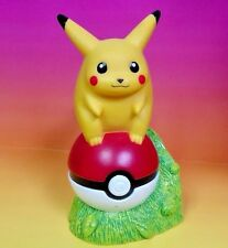 #25 Pokemon Pikachu Coin Money Bank Nintendo 1998 Very Rare Poke Ball Go Trainer