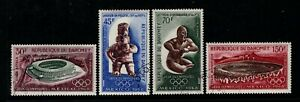 Dahomey 1968 Air Mail-Olympic Games.Set,Sc.C85-8.
