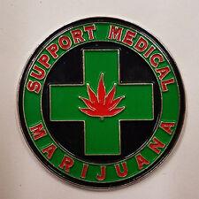 MEDICAL MARIJUANA - HAT PIN - BRAND NEW - POT WEED HP071