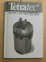 Various Choice External Filter ORYGINAL TETRATEC  TETRA * IMPELLER EX