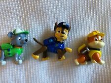 Paw Patrol Rocky Rubble Marshall 3 action figures SML poseable Spin Master Ltd.