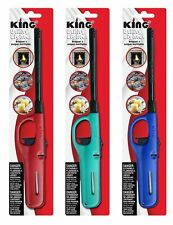 3 Pack King Multi Utility Lighter Assorted Colors