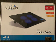 """Aicheson Fan USB Laptop Cooler Stand Up to 17"""" laptop"""