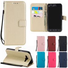 For Samsung J1/J3 J5 J7 2017/A3 A5 2017 Luxury Flip Kickstand Wallet Case Cover