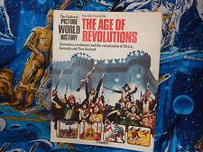 USBORNE THE AGE OF REVOLUTIONS CHILDRENS BOOK 1979 FAIR COPY COMPLETE