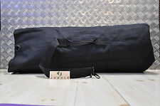 British Army Style Kitbag / Duffle / Shoulder Bag - BLACK - NEW