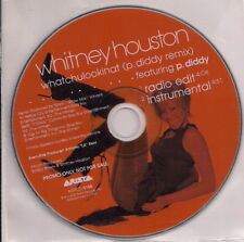 WHITNEY HOUSTON - Whatchulookinat (P. Diddy Remix) - CD Single PROMO