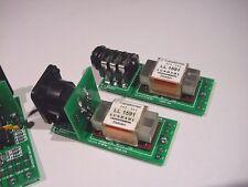 Lundahl Transformer Mounting system. TRS, XLR, Input, Output, Phantom Power