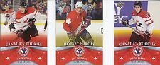 2012/13 UD NATIONAL HOCKEY CARD DAY IN CANADA SET 1-17 BARRIE LINDROS STONE SP