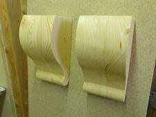 Hecho a mano de madera Corbel soportes estilo 5
