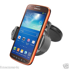 CAR HOLDER PARABREZZA ASPIRAZIONE Mount kit 360 gradi rotazione completa per Samsung S4