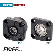 FK/FF 12 End Supports Bracket for CNC XYZ Parts For CNC Router Ballscrew 1605
