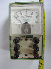 Vintage Hickok Amperes Gauge Meter Model 560D