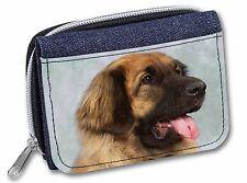 More details for blonde leonberger dog girls/ladies denim purse wallet christmas gift i, ad-le1jw
