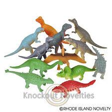 "Dozen 3"" Dinosaurs Bulk Toy Play Vending Carnival Prize Game"