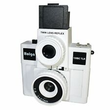 USD - HOLGA 135BC TLR / 135BCTLR Twin Lens Reflex 35mm Film Camera WHITE