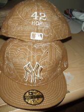 Mariano Rivera #42 Hall of Fame NY YANKEES FITTED 59FIFTY NEW ERA CAP 7 3/8