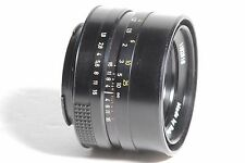 Rollei HFT 50mm f/1.8 Planar 2 Pin Manual Focus MF SLR Camera Lens SN 1102910