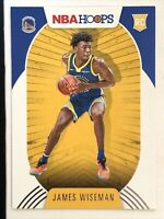 JAMES WISEMAN RC 2020-21 Panini NBA Hoops Rookie # 205 First Rookie Warriors
