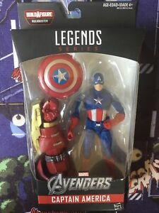 Hasbro MARVEL LEGENDS Captain America BAF Hulkbuster MSIB Action Figure