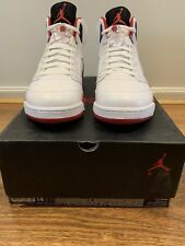 Air Jordan 5 V Retro Fire Red Black Tongue Size 14 DS 2013