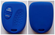 BLUE 2 BUTTON SILICONE KEY COVER FOR HOLDEN COMMODORE WH WK WL VS VT VX VY VZ