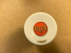 Vintage RCA 45 RPM Changer Adapter White & Black for Turntable #CH