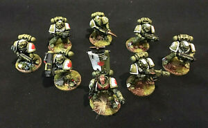 Classic 40K Space Marines - -- SPACE MARINE SQUAD -- - painted Kill Team troops