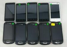 Lot of 10 Mixed ZTE Pantech Cricket-Verizon Android Smart Cellphone BULK 567