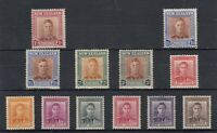 New Zealand KGVI 1938 Part Set To 3/- Mint MLH J7307