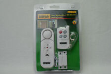 HOMESAFE DOOR/WINDOW ALARM WITH REMOTE CONTROL 621SR CONTACT ALERT