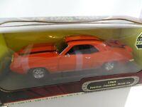 1:18 Road Signature #92368 1969 Pontiac Firebird Trans Am Naranja - Rareza§