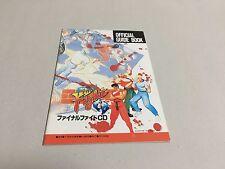 Final Fight CD Official Guide Book Sega Mega-CD Japan CAPCOM MEGA DRIVE FAN