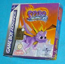 Spyro Season of Ice - Game Boy Advance GBA Nintendo - PAL