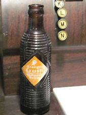 Orange Crush ribbed brown bottle