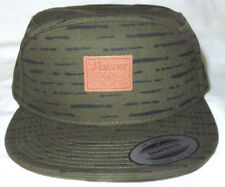 20f262884c11ce Volcom Men's Union Military Green Cotton Snapback Cap Hat NEW