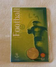 Football Soccer Sydney 2000 Olympic Games Shell Commemorative Medallion New