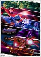 Marvel Avengers End Game Movie Poster Art Print - A0 A1 A2 A3 A4 Maxi