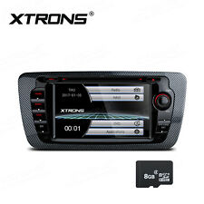Car DVD Player GPS Sat Nav Stereo Radio Bluetooth USB For SEAT IBIZA 2009-2013