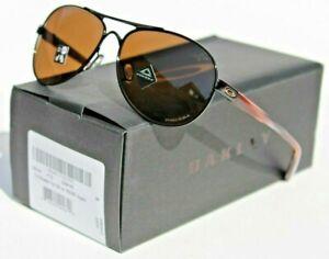 OAKLEY Tie Breaker Sunglasses Womens Black/Prizm Tungsten NEW OO4108-1856