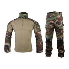 EMERSON COMBAT TACTICAL SUIT WOODLAND Tg S M L XL XXL SOFTAIR AIRSOFT