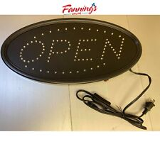 Opened Fitnate Led Light Open Sign 19x10 Inch Business Electric Display Board