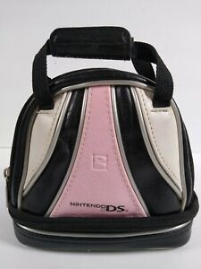 Official Nintendo DS Brunswick Bowling Bag Carrying Case Pink Silver ALS soft